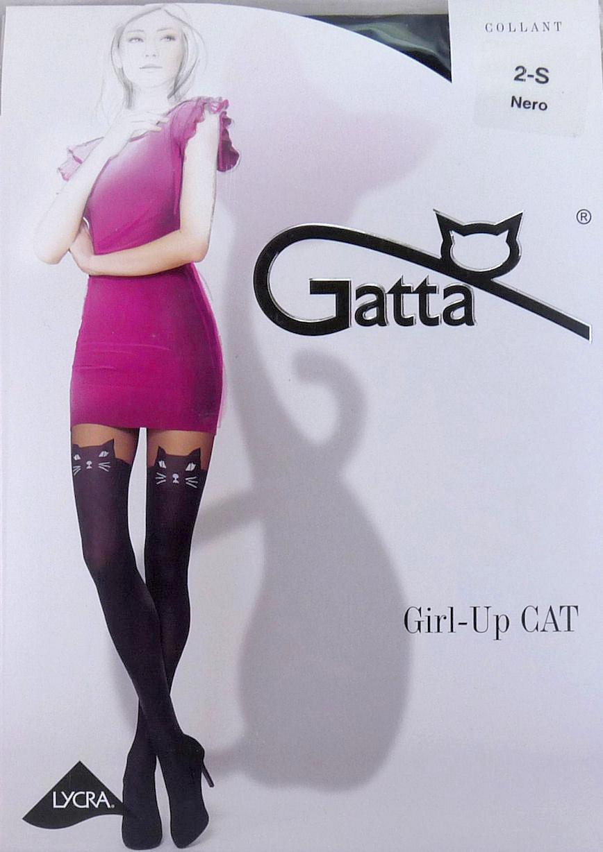 7230454758b7e9 Gatta GIRL UP CAT R4 rajstopy kot jak pończochy