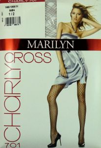 Marilyn Charly CROSS 701 R1/2 rajstopy romby sabia