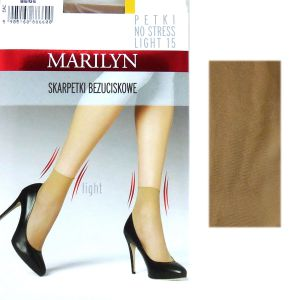 Marilyn PETKI LIGHT 15 NO STRESS 2 pary beige