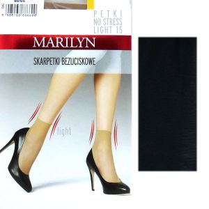 Marilyn PETKI LIGHT 15 NO STRESS 2 pary black