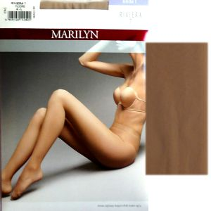 Marilyn Riviera 7 R4 rajstopy visone efekt make up'u