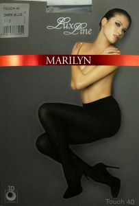 Marilyn TOUCH 40 R1/2 rajstopy dark blue LUX LINE